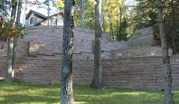 Fendt Builders Michigan Segmental Retaining Walls