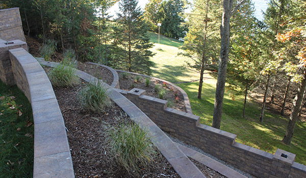 Michgan Segmental Retaining Walls