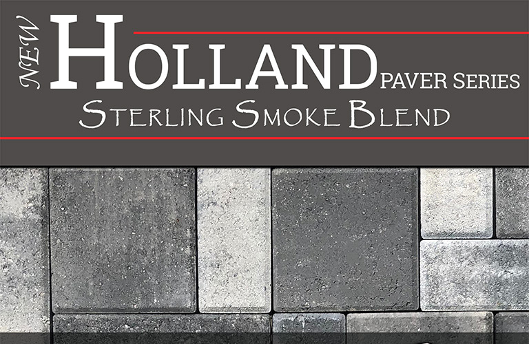 Fendt Products - Holland Paver Series - Sterling Smoke Blend