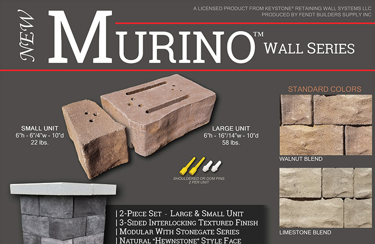 Fendt Products - Murino Wall Series